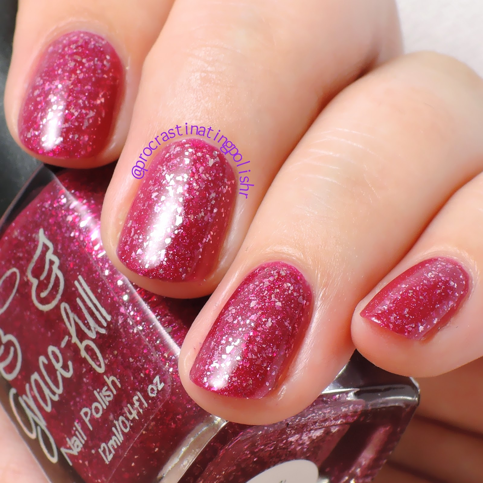 Grace-full Nail Polish - Love Sparkles | Valentine's Day Duo