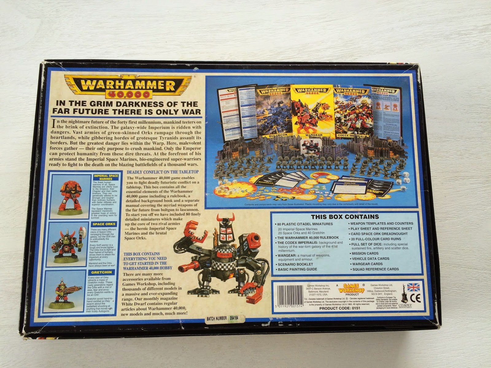 WH40K 2nd Edition Box Set