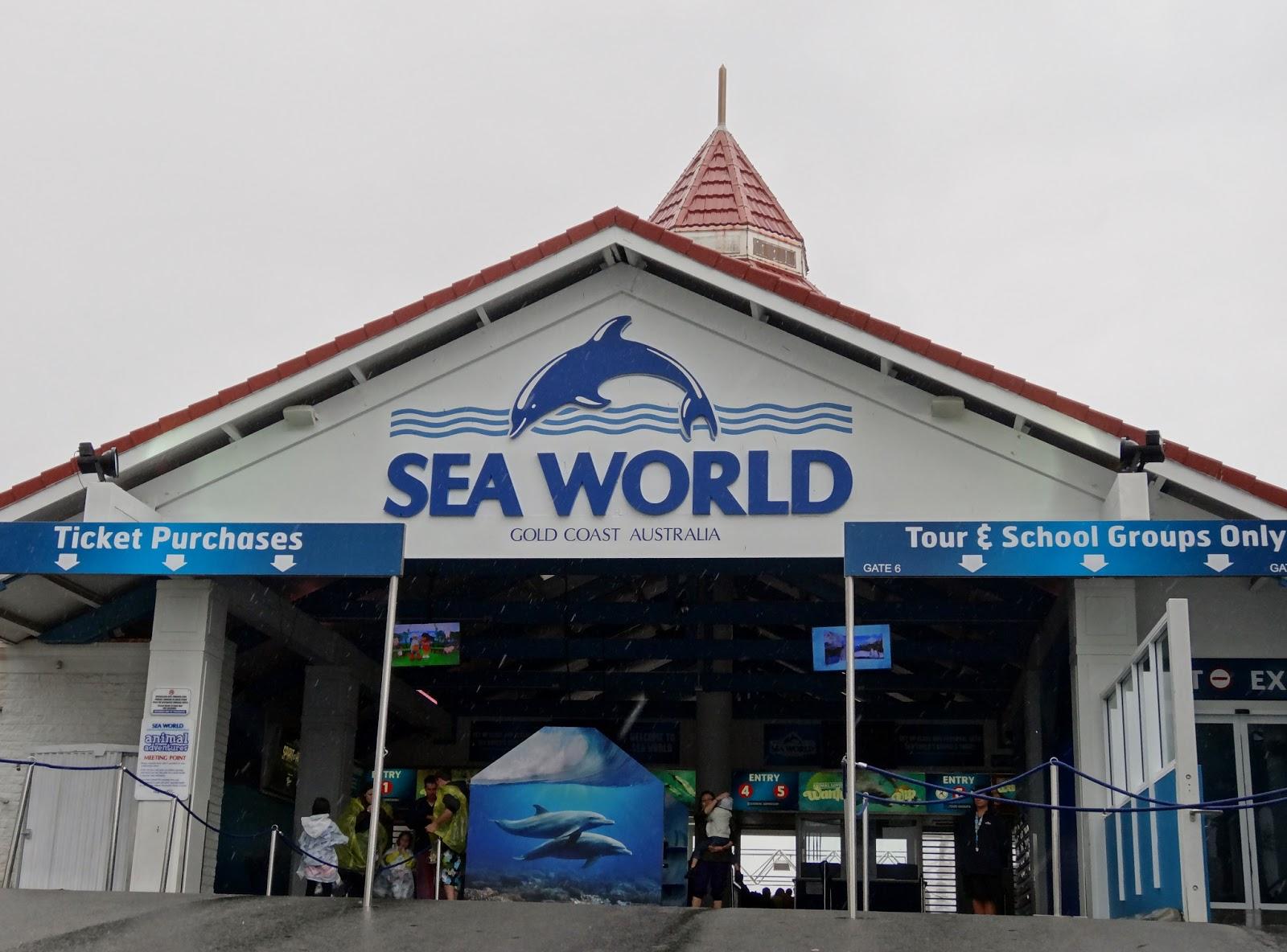Seaworld Gold Coast Car Park