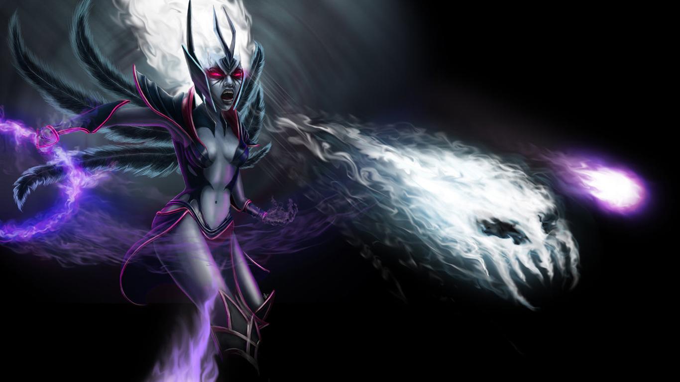 vengeful spirit dota 2 3x wallpaper hd