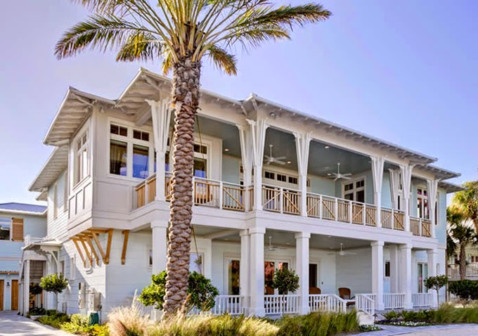 Modern palm boutique florida beach house by balfoort for Florida beach home plans