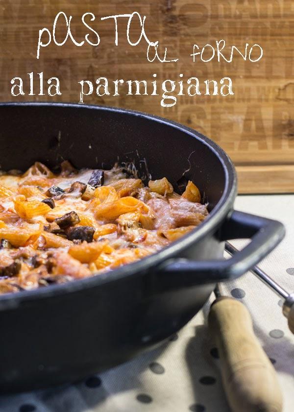 pasta al forno... alla parmigiana