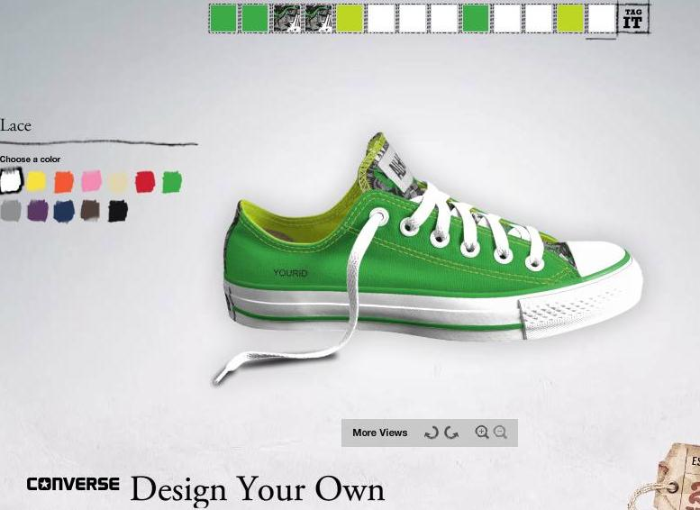 Completed My Design What do I do after my design is completed. Step 3: When you have finished making your own Converse Shoes using Custom Converse, you will need to share the design to be able to view it. You can follow our detailed shared guide to email your custom design of your shoes.