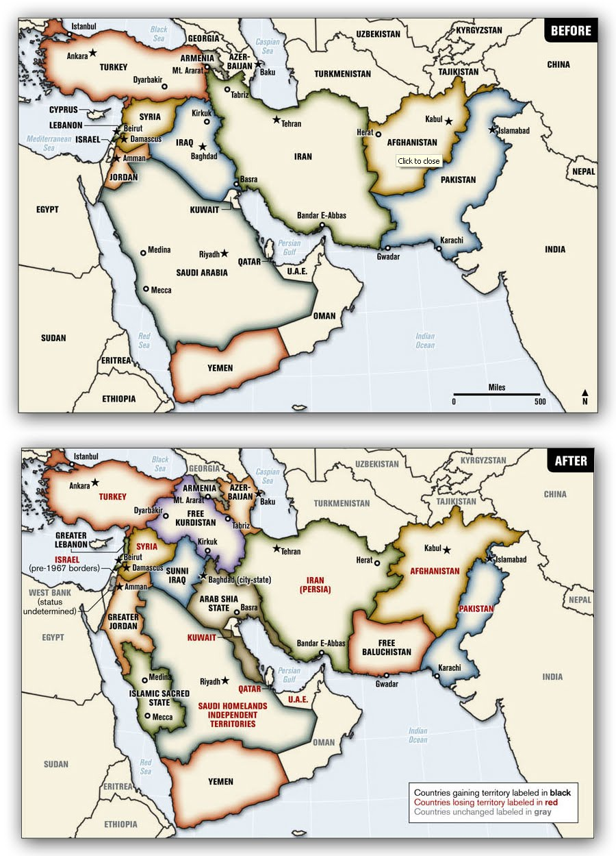 Ralph Petersu0027 Proposed Solution To The Middle East: Visible To The Right  (and Originally Found On Wikipedia While Researching Ralph Peters A Couple  Of Years ...