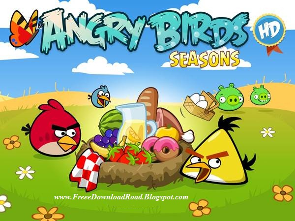 Angry Birds Seasons (HD) Pc Game Full version free download