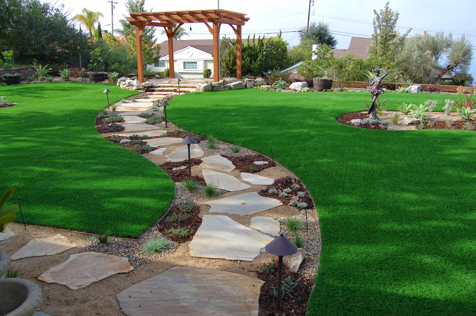Landscape Construction Of Majestic Landscaping Design