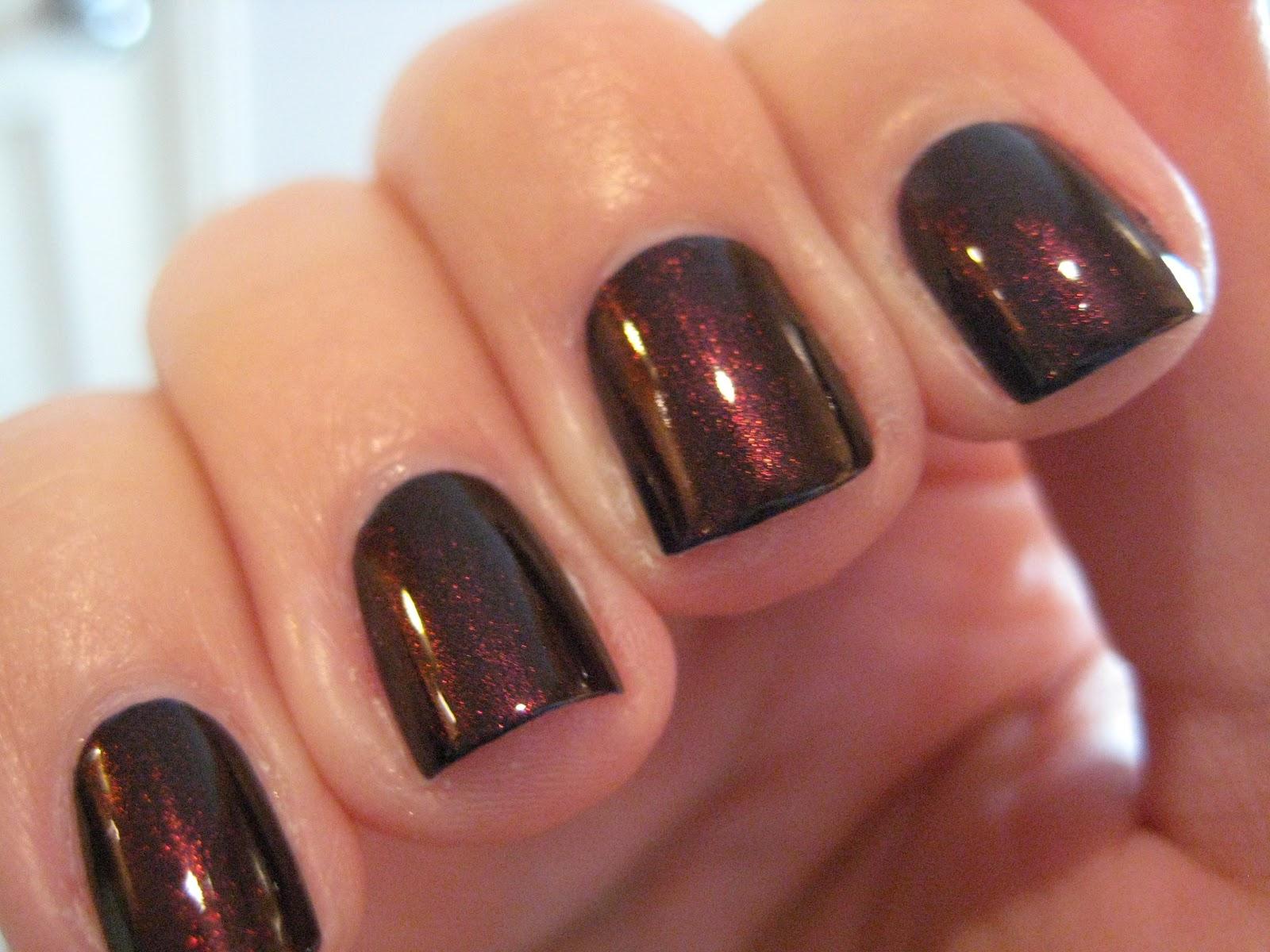 Opi Dark Red Nail Polish | Nails Gallery