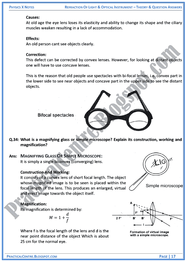 refraction-of-light-and-optical-instruments-theory-and-question-answers-physics-x