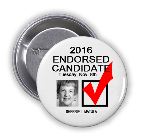 RACE FOR COUNTY SCHOOL TRUSTEE POSITION 1, PRECINCT 2 -- Sherrie L. Matula