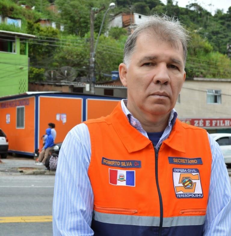Coronel Roberto Silva: a Defesa Civil permanece em estado de atenção