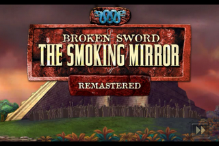 Broken Sword: The Smoking Mirror Remastered Adventure Game for iPhone iPad and iPod Touch title screen