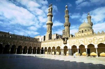 Mosque Al-Azhar in Cairo - photos mosque