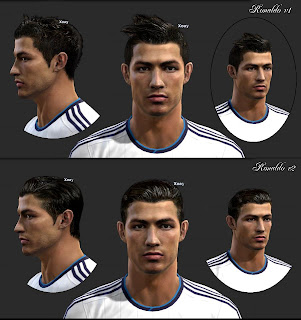 Download Face Cristiano Ronaldo PES 2013 by Vietanhltk