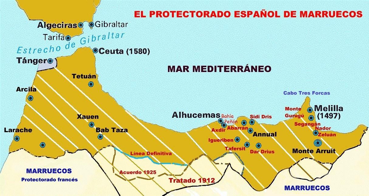 Aula de historia de espa a annual y el protectorado - Nombres clasicos espanoles ...