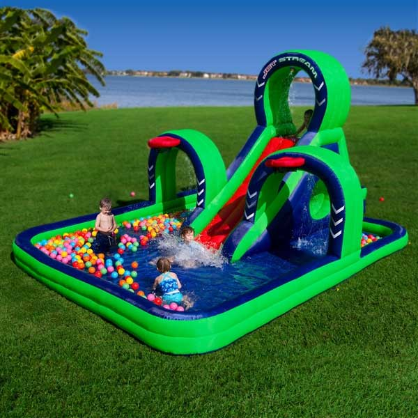 Blast Zone Jet Stream Inflatable Water Slide