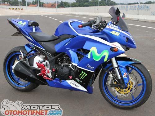 Modifikasi Yamaha YZF-R25 2014, Bergaya MotoGP