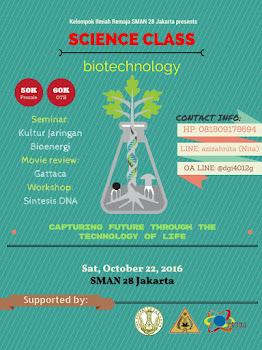 SC BIOTECH 2016 - KIR SMAN 28 JAKARTA SELATAN