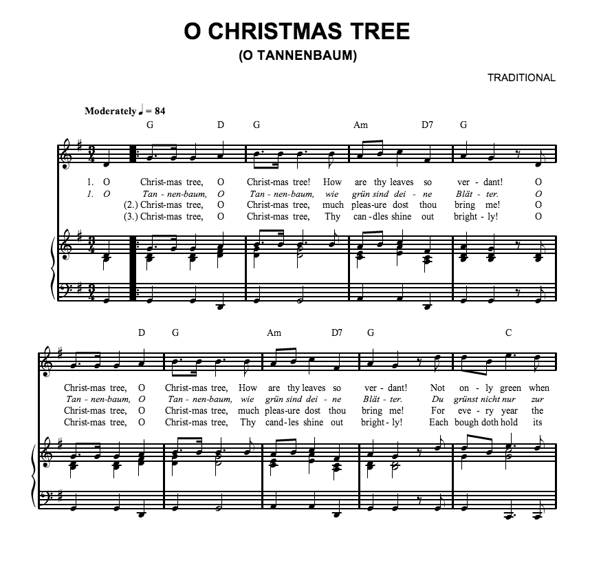 A Charlie Brown Christmas Piano Sheet Music