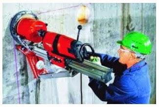 Aplikasi dan Spesifikasi Mesin Coring Beton Hilti DD 200