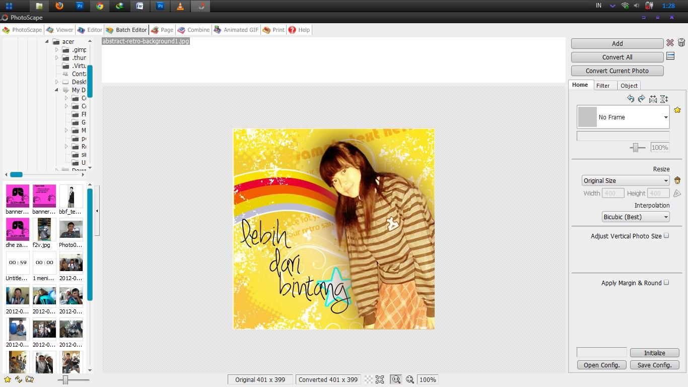 cara mudah mengedit foto dengan mendownload photoscape