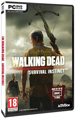 The Walking Dead: Survival Instinct - PC-Game (2013) DVD