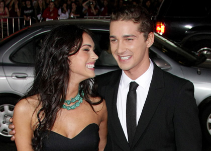 shia labeouf and megan fox 2011. shia labeouf girlfriend megan