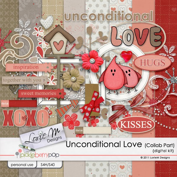 Unconditional Love Kit (LorieM Designs Part)