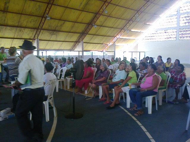 Conferência debate Protagonismo do idoso no município de São João do Sóter