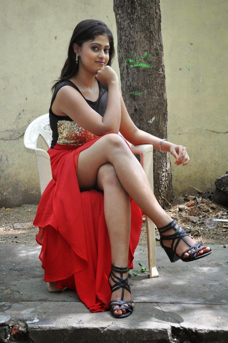 Meghasri glamorous photos in red-HQ-Photo-13
