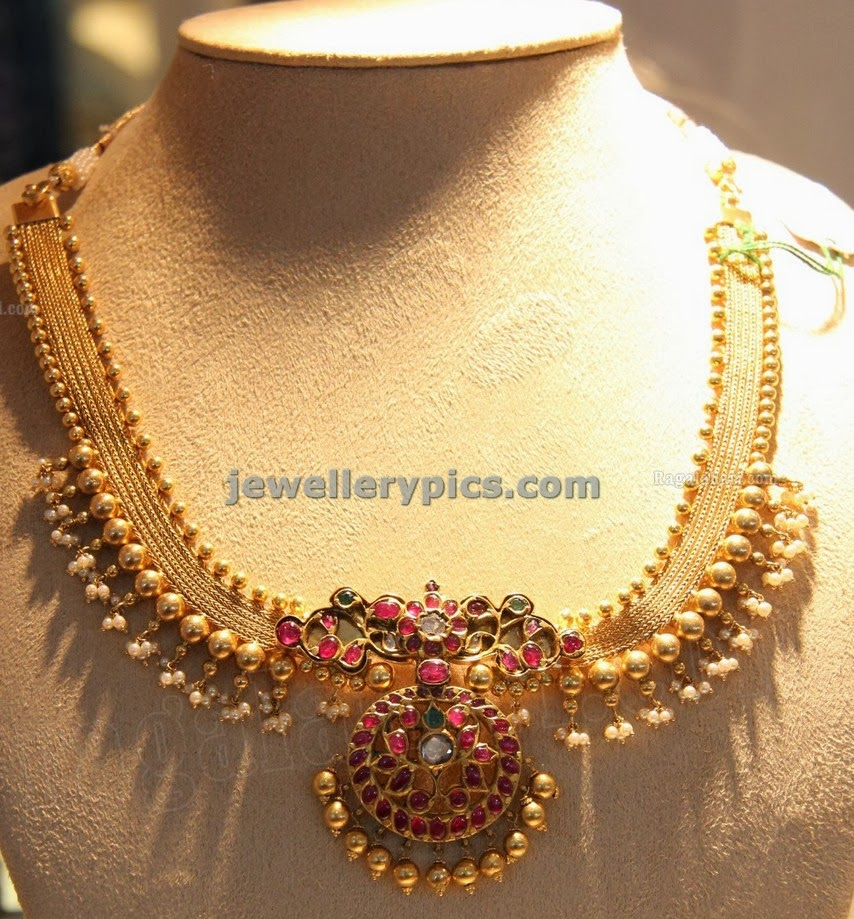 ruby jewellery indian necklace