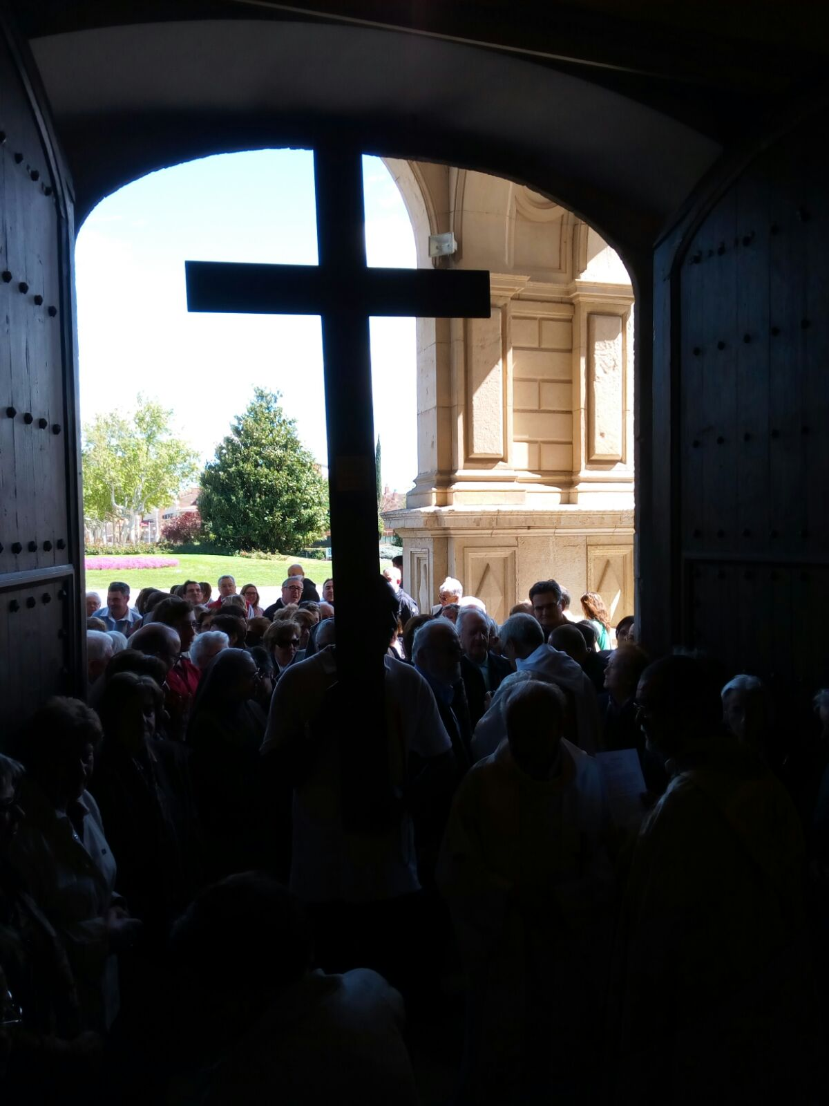 Peregrinació de la parròquia de Crist Rei de Reus (17-4-2016)