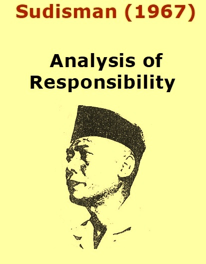 Sudisman (1967) - Analysis of Responsibility