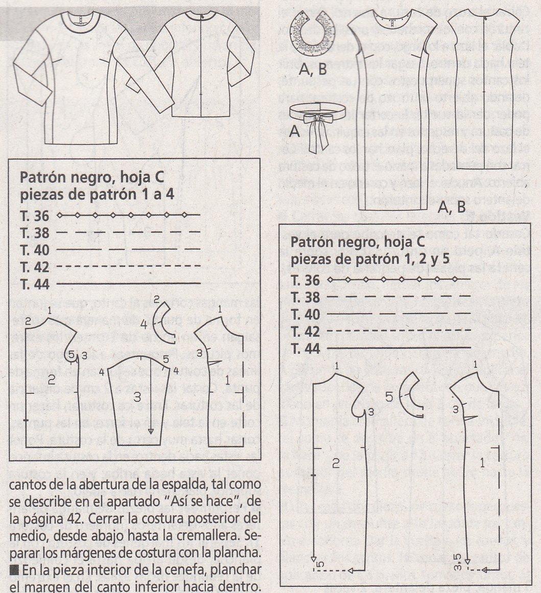 Anilegra moda para muñecas: REVISTA PATRONES BURDA ENERO 2013 ,para ...
