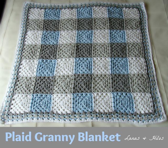 lanas hilos 3rd granny blanket. Black Bedroom Furniture Sets. Home Design Ideas