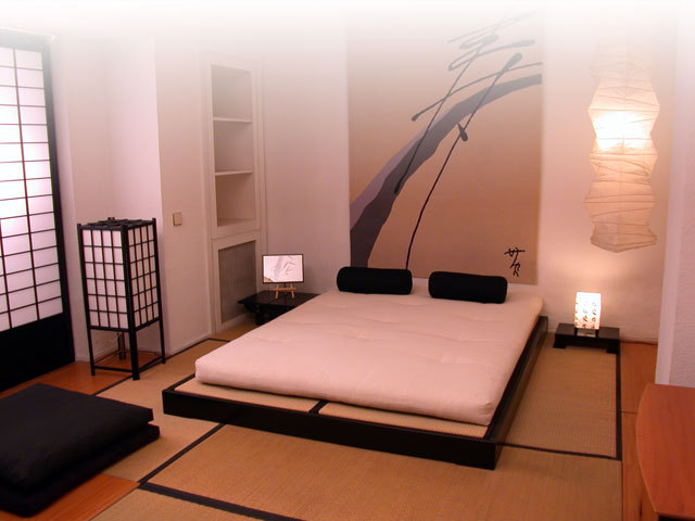 Decoracion oriental zen for Dormitorio zen oriental