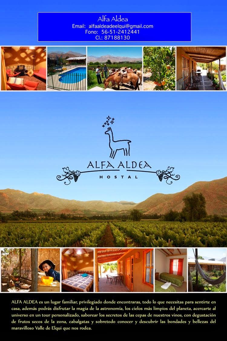 Alfa Aldea, Valle de Elqui