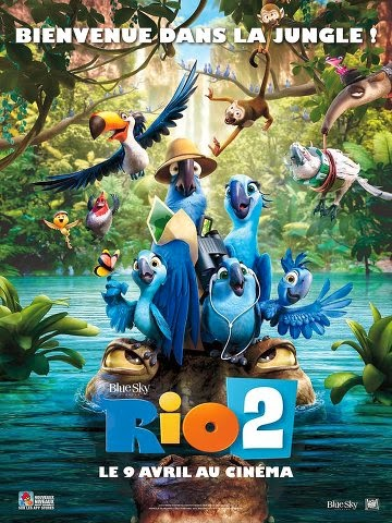 Regarder Rio 2 en streaming