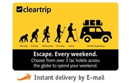 Get 20% Off on Cleartrip Hotels E-Gift Card