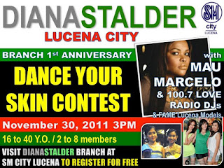 "Diana Stalder by Dermaline SM Lucena Branch 1st Year Anniversary, ""Dance Your Skin"" 14"