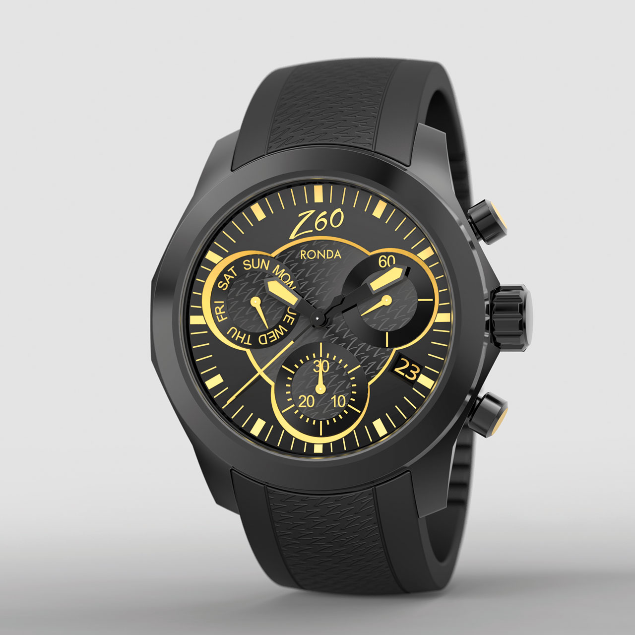 Ronda xtratech Z60 – new 13¼''' chronograph Watch