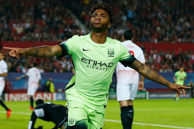 Hasil laga Sevilla 1-3 Manchester City