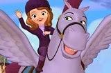Princesa Sofia con Minimus el grande