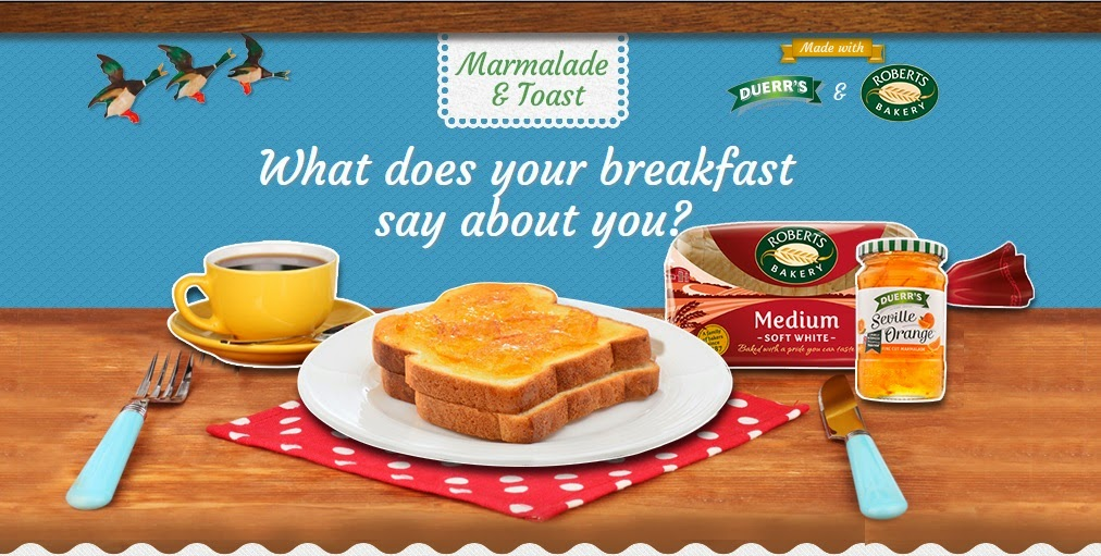 MarmaladeAndToast: What does your breakfast say about you?