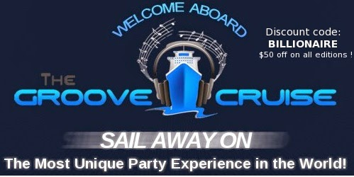 Groove Cruise 2016 Miami Jamaica promo coupon codes - up to U$400 off