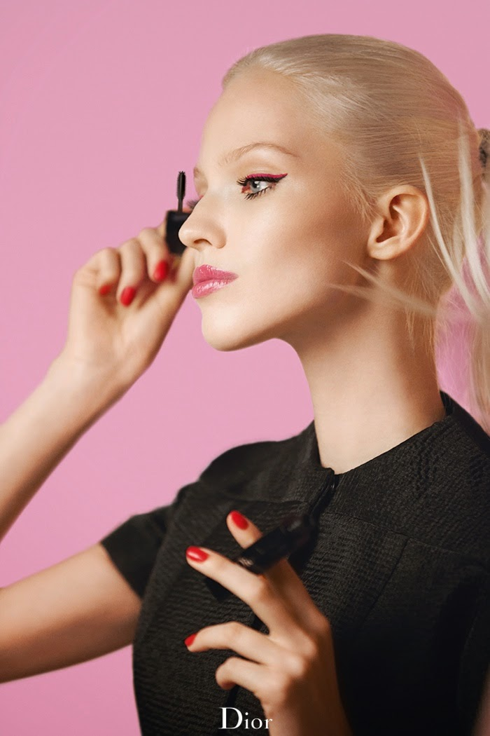 Dior Addict 'It-Lash' Mascara Campaign featuring Sasha Luss