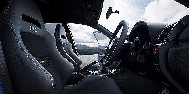 Subaru Impreza WRX STi 2012 - Branded Stuff