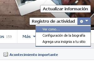 Como ven los demás tu perfil de facebook