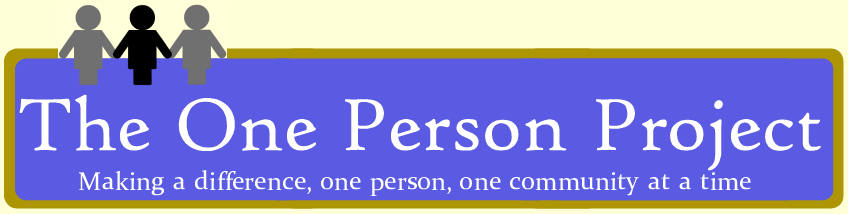 The One Person Project Blog