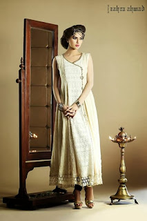 Girls formal dresses by Zahra Ahmed 2013