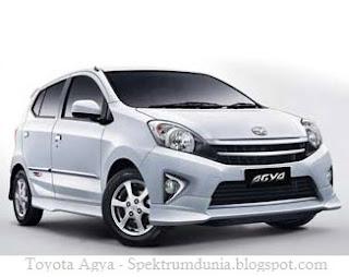 Harga mobil Toyota Agya dan Harga Daihatsu Ayla di bursa otomotif Indonesia - spektrumdunia.blogspot.com